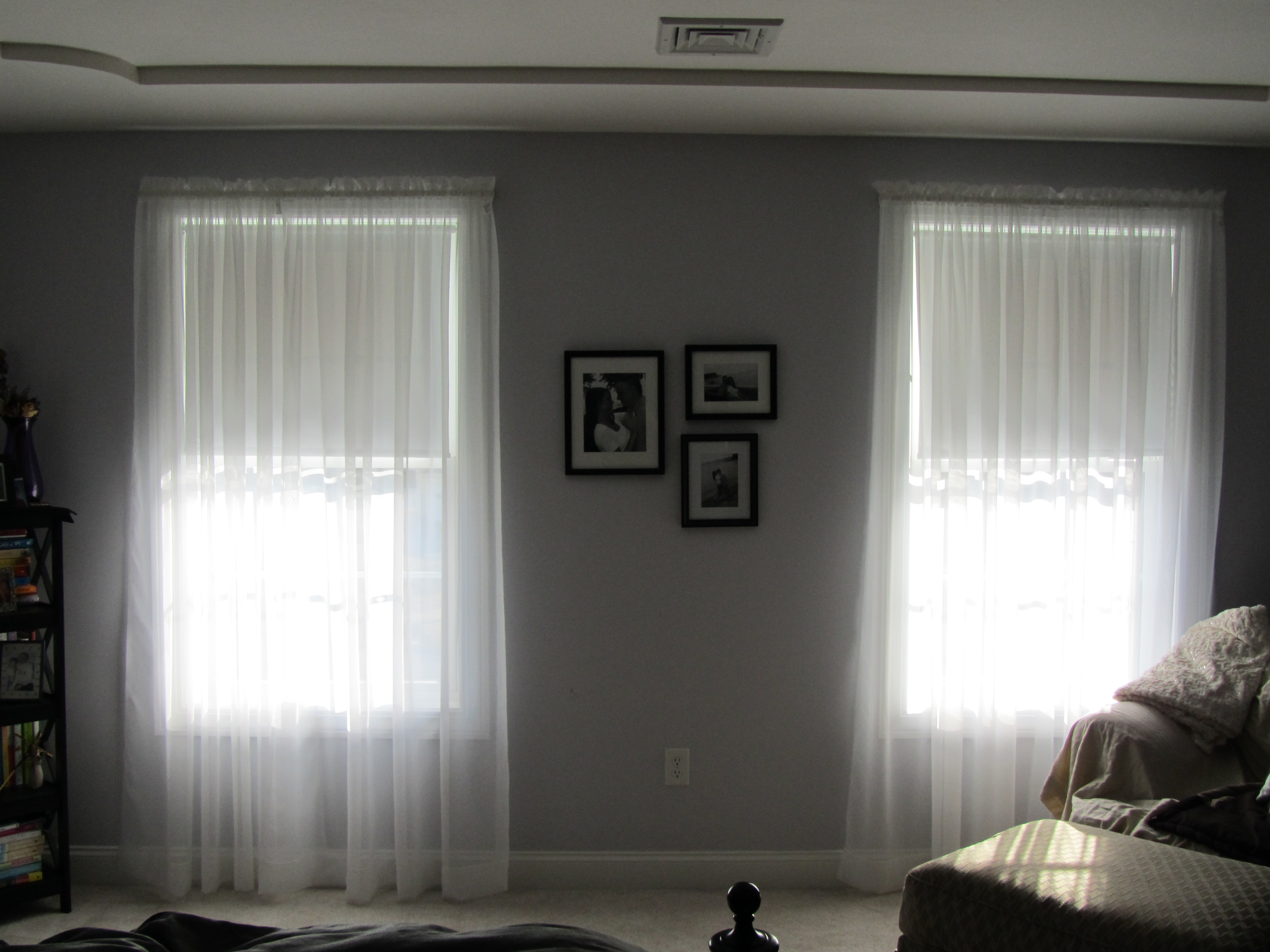 Bedroom window treatments tales of evolving curiosities for Window valances for bedroom